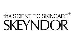 Het logo van Skeyndor