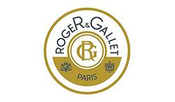 Het logo van Roger en Gallet